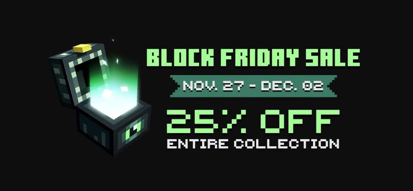 Black Friday 2019 - Minecraft