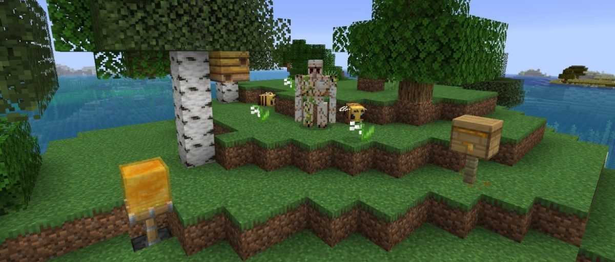 Minecraft Buzzy Bees