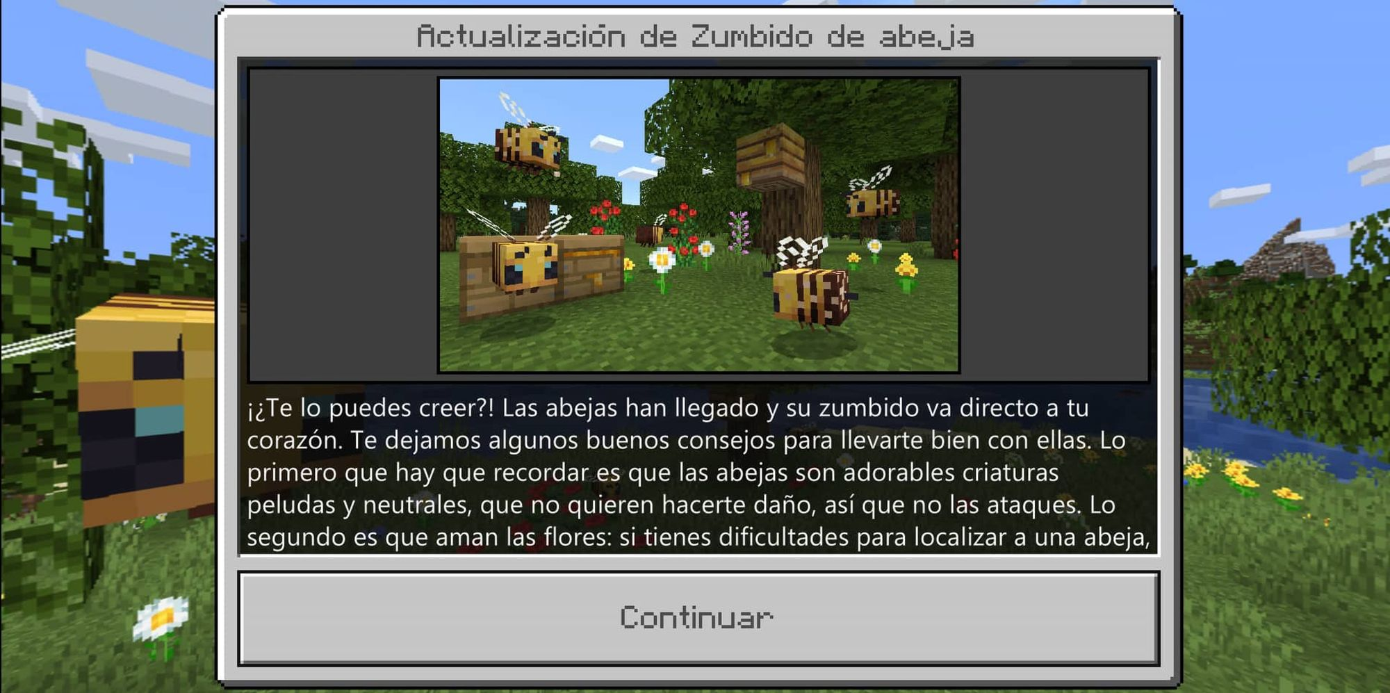 Buzzy Bees - Minecraft Bedrock Edition para Android