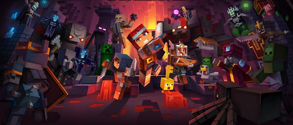 MINECRAFT DUNGEONS disponible en Abril