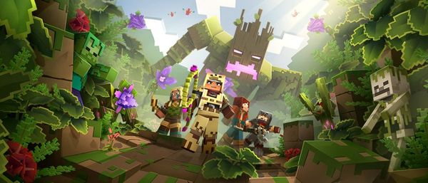 Minecraft Dungeons Jungle Awakens DLC